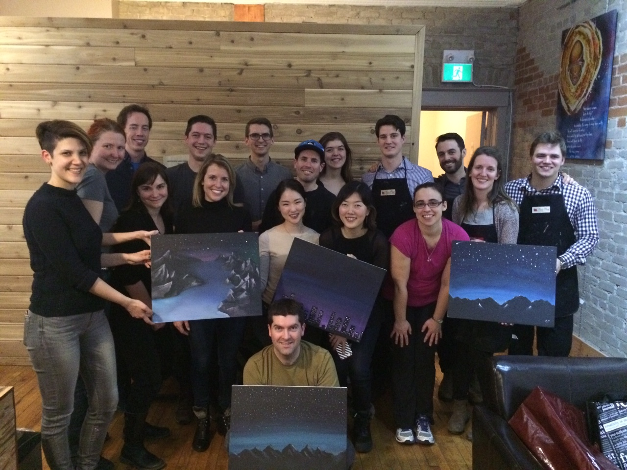 corporate painting parties