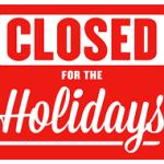 closed-for-the-holdiays