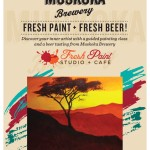 painting and beer tasting Toronto