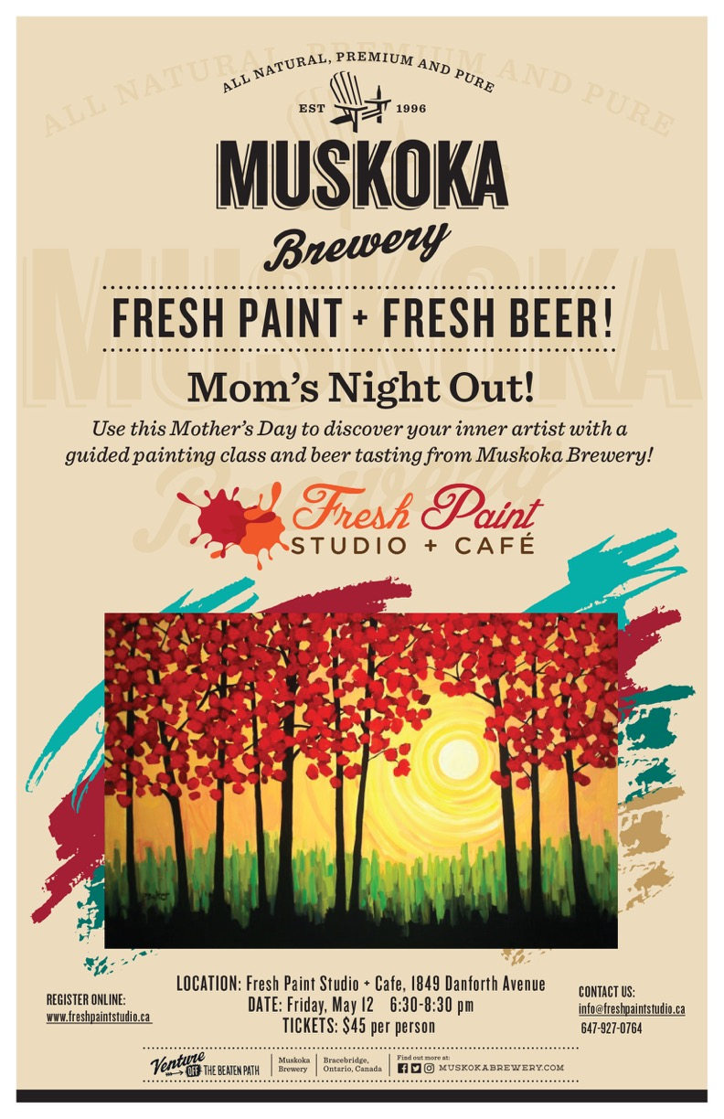 Mother's Day Event - Paint Night