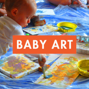 baby art workshop