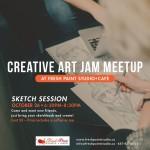 Creative Art Jam Meetup_October_preview