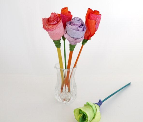Creative Paper Rose Workshop