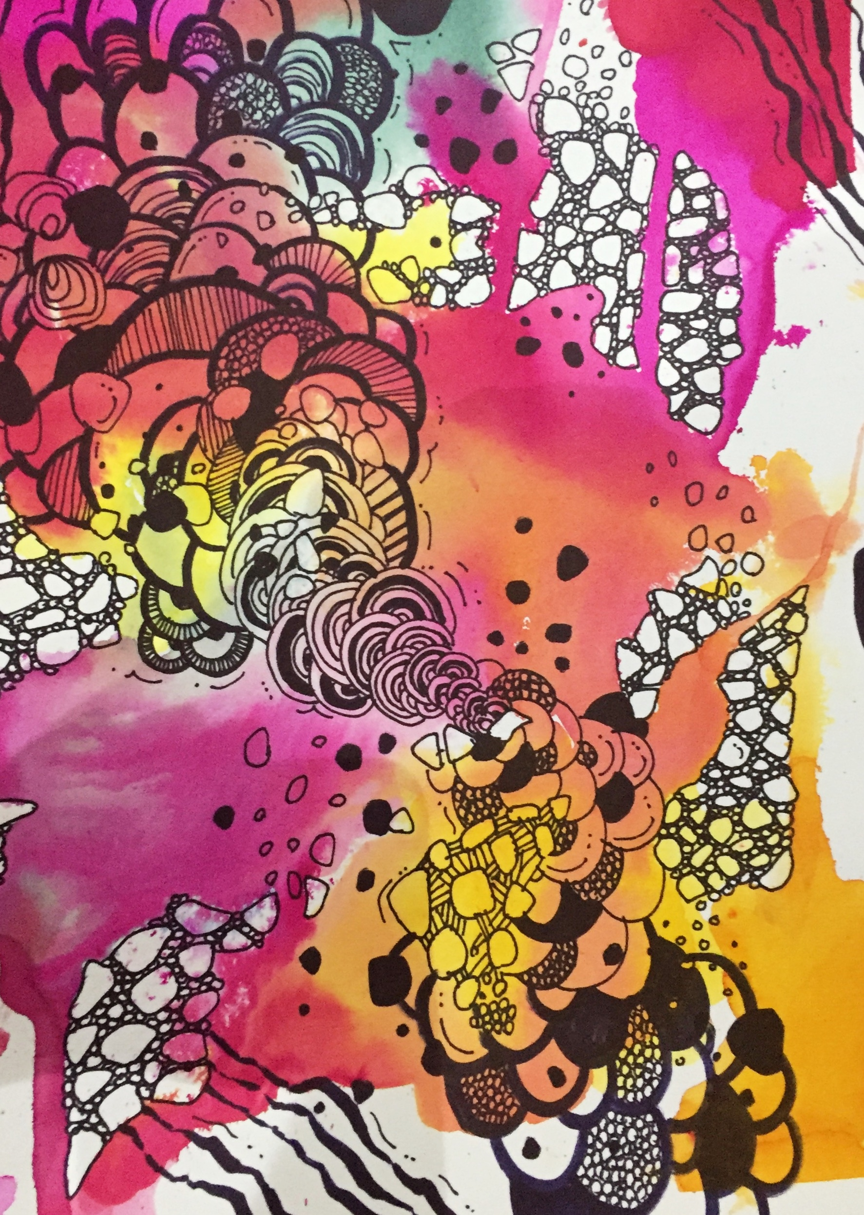 Watercolour Zentangle Art Workshop